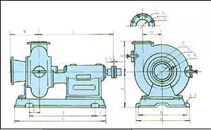 PW型卧式污水泵1