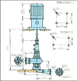 PW型卧式污水泵2